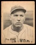 1939 Play Ball #66  Jimmy Ripple  Front Thumbnail