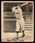 1939 Play Ball #16  Johnny Peacock  Front Thumbnail