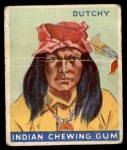 1933 Goudey Indian Gum #40  Dutchy   Front Thumbnail