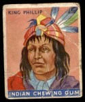 1933 Goudey Indian Gum #30  King Phillip   Front Thumbnail