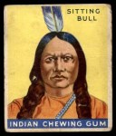 1933 Goudey Indian Gum #38  Sitting Bull   Front Thumbnail