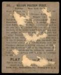 1939 Play Ball #30  Bill Dickey  Back Thumbnail