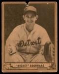 1940 Play Ball #180  Mickey Cochrane  Front Thumbnail