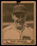 1940 Play Ball #128  Pete Appleton  Front Thumbnail