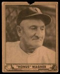 1940 Play Ball #168  Honus Wagner  Front Thumbnail