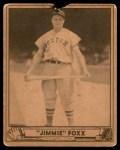 1940 Play Ball #133  Jimmie Foxx  Front Thumbnail
