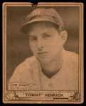 1940 Play Ball #4  Tommy Henrich  Front Thumbnail