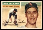 1956 Topps #186  Ron Jackson  Front Thumbnail