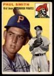 1954 Topps #11  Paul Smith  Front Thumbnail