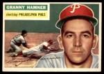 1956 Topps #197  Granny Hamner  Front Thumbnail