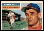 1956 Topps #193  Wilmer Mizell  Front Thumbnail