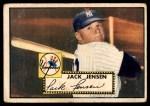 1952 Topps #122  Jackie Jensen  Front Thumbnail