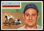 1956 Topps #192  Smoky Burgess  Front Thumbnail