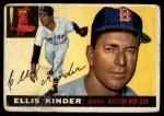 1955 Topps #115  Ellis Kinder  Front Thumbnail