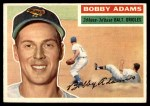 1956 Topps #287  Bobby Adams  Front Thumbnail