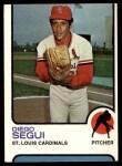 1973 Topps #383  Diego Segui  Front Thumbnail