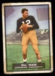 1951 Topps Magic #2  Bill Wade  Front Thumbnail