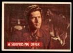 1956 Topps Davy Crockett #39 GRN  A Surprising Offer  Front Thumbnail