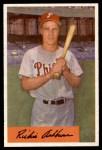 1954 Bowman #15  Richie Ashburn  Front Thumbnail