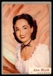 1953 Topps Who-Z-At Star #63  Ann Blyth  Front Thumbnail