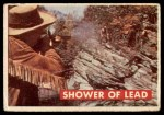 1956 Topps Davy Crockett #18 GRN  Shower of Lead  Front Thumbnail