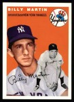 1954 Topps Archives #13  Billy Martin  Front Thumbnail
