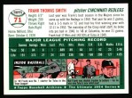 1954 Topps Archives #71  Frank Smith  Back Thumbnail