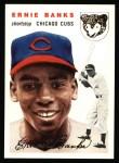 1954 Topps Archives #94  Ernie Banks  Front Thumbnail