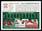 1954 Topps Archives #148  Bob Trice  Back Thumbnail
