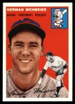 1954 Topps Archives #162  Herm Wehmeier  Front Thumbnail