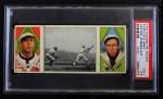 1912 T202 Hassan   -  Dolly Gray / Bob Groom Hartsel Strikes Out  Front Thumbnail