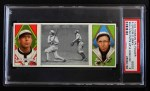 1912 T202 Hassan   -  Dolly Gray / Bob Groom Sullivan Puts Up High One  Front Thumbnail