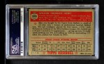 1952 Topps #370  Billy Hoeft  Back Thumbnail