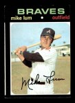1971 Topps #194  Mike Lum  Front Thumbnail