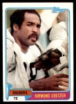 1981 Topps #65  Raymond Chester  Front Thumbnail