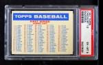 1957 Topps BAZ  Bazooka Checklist - Series 1 & 2 Front Thumbnail