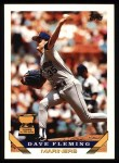 1993 Topps #45  Dave Fleming  Front Thumbnail