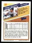 1993 Topps #68  Omar Vizquel  Back Thumbnail