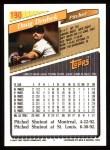1993 Topps #190  Doug Drabek  Back Thumbnail