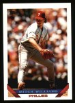 1993 Topps #235  Mitch Williams  Front Thumbnail