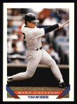 1993 Topps #287  Mike Gallego  Front Thumbnail