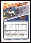 1993 Topps #297  Jeff Innis  Back Thumbnail