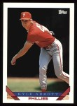 1993 Topps #317  Kyle Abbott  Front Thumbnail