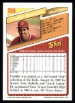 1993 Topps #356  Freddie Benavides  Back Thumbnail