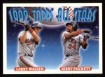 1993 Topps #406   -  Larry Walker / Kirby Puckett All-Star Front Thumbnail