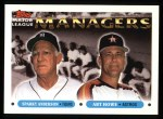 1993 Topps #506   -  Sparky Anderson / Art Howe Managers Front Thumbnail