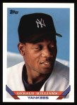 1993 Topps #654  Gerald Williams  Front Thumbnail