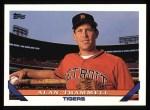 1993 Topps #660  Alan Trammell  Front Thumbnail