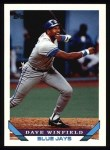 1993 Topps #131  Dave Winfield  Front Thumbnail