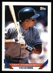 1993 Topps #348  Andy Stankiewicz  Front Thumbnail